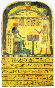 Åbenbaringstavlen, en ægyptisk gravstele efter præsten Ankh-af-na-khonsu